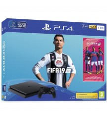 SONY PS4 1TB F SLIM + FIFA 19